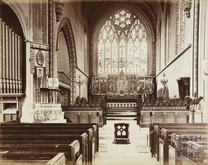 St. Mary's Church, Bathwick, Bath c.1870-1890