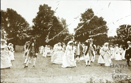 Bath Historical Pageant. Episode 7. The Minuet July 1909