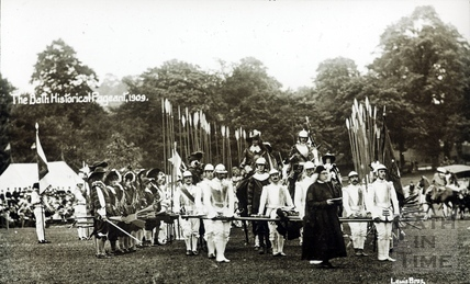 Bath Historical Pageant. Episode 6. Funeral of Sir Bevil Grenville July 1909
