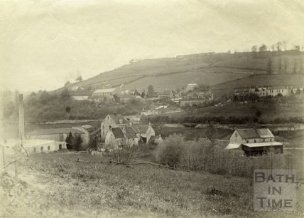 View of Freeman's Mill and Monkton Combe c.1880