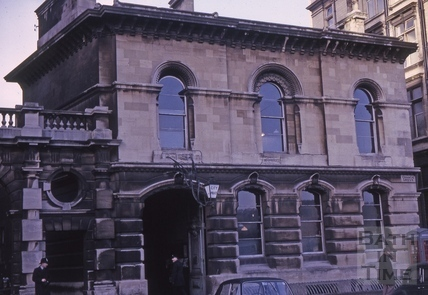 Police Station, Orange Grove, Bath 1964
