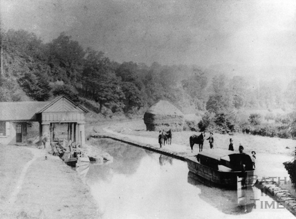 Midford Weighhouse, Somersetshire Coal Canal 1870