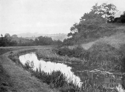 A Lost Beauty Spot. The Somersetshire Coal Canal, South Stoke c.1905