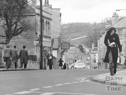 St. Saviour's Road, Larkhall, Bath 1973