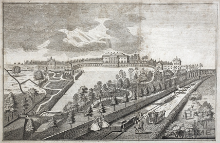 Prior Park, the Seat of Ralph Allen Esq. near Bath 1754