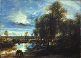 Landscape by moonlight
