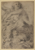 Drawing after Rubens