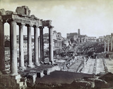 Roman Forum;Temple of Saturn