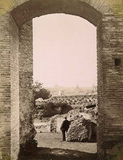 The Palatine;Palace of  Domitian