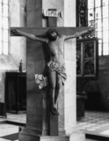 Parish Church of St Anna;Crucifix (from former Franciscan Convent)