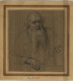 Portrait of a bearded man