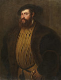 Portrait of Hernan Cortez (?) (after Tiziano Vecellio)