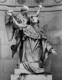 Chapelle Expiatoire;Statue of Louis XVI Supported by an Angel