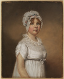 Portrait of a young girl - Miss Elizabeth Holt (?)