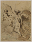 Study for 'The Apotheosis of the Princes Octavius and Alfred' (Buckingham Palace)