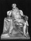 Statuette of Sir William Curtis