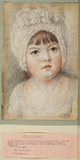 Portrait head of a young girl - Lady Catherine Pelham Clinton (?)
