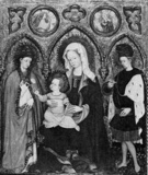 Virgin and Child with two saints