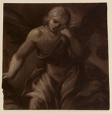 Fragment of an angel weeping