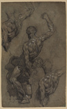Studies after Michelangelo's 'Samson and the Philistines'