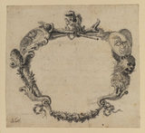 Ornamental frame for title page