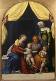Holy Family with the Infant Saint John and Saint Elizabeth