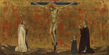 Crucified Christ with donors