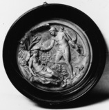 Oberon and Titania wax roundel