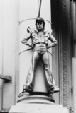 Rock Circus, London Pavilion;Statue of Gary Glitter