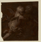 Fragment with three putti