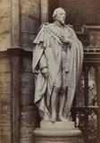 Westminster Abbey;Abbey Church;Statue of Bejamin Disraeli