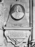 Bath Abbey;Monument to James Quin