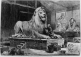 Model for the lions for Nelson's Column