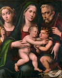 Holy Family with the Infant Saint John and Saint Catherine