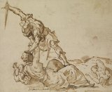 Study for the 'Massacre of the Innocents'