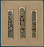 Designs for a stained-glass window