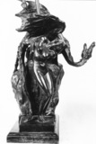 Bronze model  for the painting Persons and Andromeda