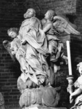 Statue of the Blessed Bernardo Tolomeo and Angels