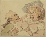 Secundem Artem - caricature of a man and a woman