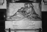Brecon Cathedral;Monument to George Price Watkins