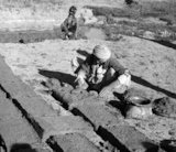 'Brick making,Khorsabad, Northern Iraq'