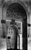 Mihrab in Jami  Al-Aquar Mosque, Mosul, Northern Iraq'