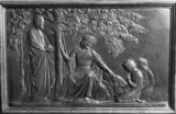 Relief Illustrating a poem of George Herbert