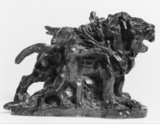 Maquette for the Lion Group on Pont Alexandre III