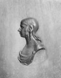 Relief of an unidentified woman