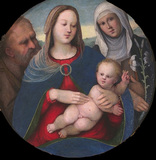 Holy Family with Saint Catherine