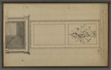 Design for a fireplace and overmantel
