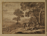 Landscape with the death of Orpheus