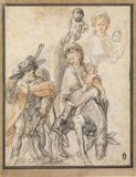 Studies for The Flight into Egypt