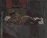 Reclining nude, Mornington Crescent